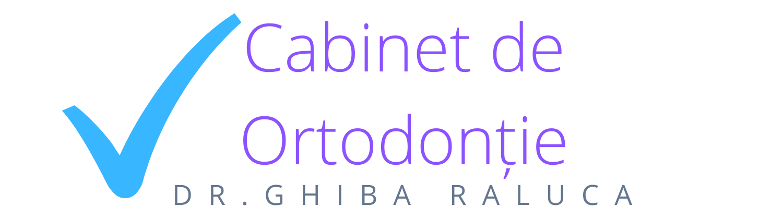 Logo Cabinet de Ortodonție Dr. Ghiba Raluca